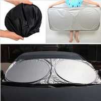 Car Sunshade Front Rear Window Wind Shield Visor Cover UV Reflector