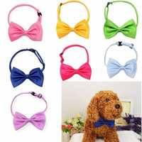 Cat Dog Neck Tie Dog Bow Tie Pet Grooming Supplies Pet Headdress Bow-tie Necktie