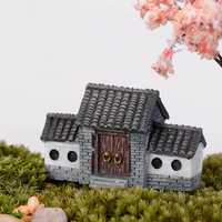 Mini Historic Building Micro Landscape Decorations Garden DIY Decor