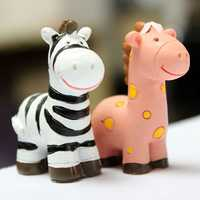 Mini Cute Zebra Micro Landscape Decorations Garden DIY Decor
