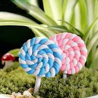 Mini Cute Lollipop Micro Landscape Decorations Garden DIY Decor