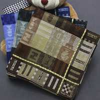 Jacquard Weave Cotton Square Men Handkerchief Pocket Hanky Wedding Party