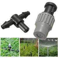 Garden Adjustable Micro Spray Nozzle Misting Atomizing Cooling Sprinkler