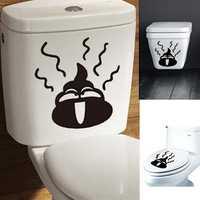 DIY Toilet Sticker Removable Closestool Sticker Bathroom Decoration
