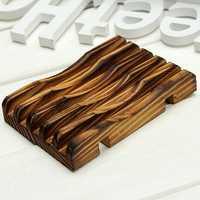 12.5x8.5x2cm Handmade Bathroom Soap Dish Bath Sponge Holder Sundries Storage Rack