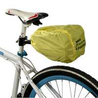 ROSWHEEL Bike Quick Release Buckle Bicycle Saddle Bag+Rain Cover