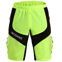 WOSAWE Outdooors Multifunctional Shorts Sports Shorts Waterproof Riding Shorts