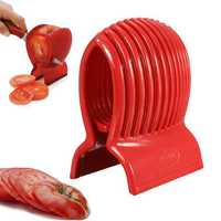 Tomato Onion Slicer Vegetable Fruit Cutter Holder Potato Lemon Cutting Shredder Kitchen Tool