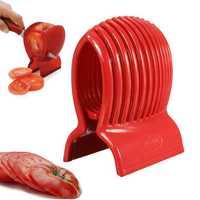 Tomato Onion Slicer Vegetable Fruit Cutter Holder Potato Lemon Cutting Shredder Kitchen Tool