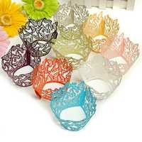 12PCS Butterfly Baking Cup Cake Wrapper Cup Cake Decoration