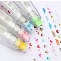 Multicolor Decoration Laciness Correction Tape