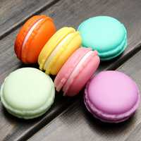 Macaron Mini Jewelry Pill Case Box Storage Birthday Gift