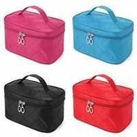 4 Colors Portable Makeup Cosmetic Case Storage Handbag Travel Bag