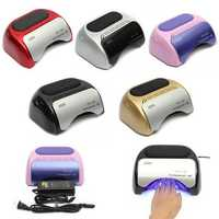 48W 110-220V Manicure Timer LED Lamp Curing Nail Art UV Gel Dryer