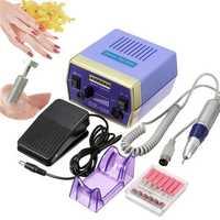 220-240V Professional Manicure Pedicure Electric Drill Nail Art Set Kit