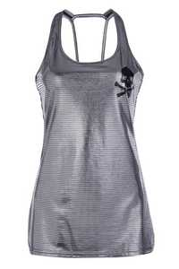 Tank Top with Skull Print