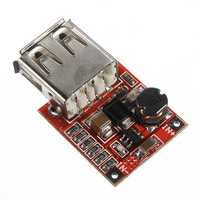 5Pcs 3V To 5V 1A USB Charger DC-DC Converter Step Up Boost Module For Arduino Phone MP3 MP4