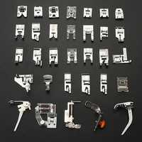 Sewing Machine Presser Foot Feet Kit Set For Brother Singer Janome Tools