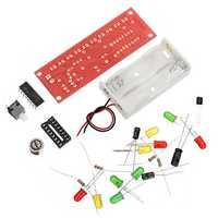 10Pcs CD4017 Light Water Voice Control Water Lamp Electronic DIY Kit
