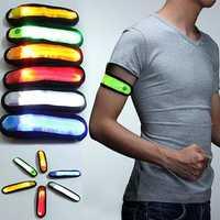 LED Safety Reflective Armband Flashing Strap Belt Bracelet Unisex