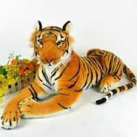 30cm Artificial Tiger Animal Plush Doll Cloth Kids Simulation Stuffed Toys