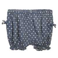 Little Girl Hemp DotFiber Short Pant Summer Bottom Wear