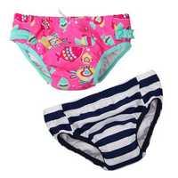 Baby Child Kid Boys Girls Cartoon Style Swim Summer Swimwear Diapers