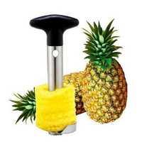 Stainless Steel Pineapple Peeler Cutter Slicer Corer Peel Core Tools Fruit Vegetable Knife Gadget Kitchen Accessories Spiralizer