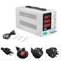 LOMG WEI PS-3010DF 110V/220V DC Power Supply 30V 10A Precision Variable LED Digital Lab Adjustable W/ USB