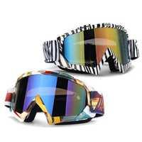 Sport Snowboard Skiing Goggles Ski Eyewear ATV Motocross Motorcycle Glasses