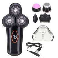 5 In 1 Electric Hair Clipper Shaver Nose Hair Trimmer Facial