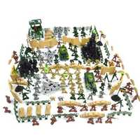 250 pcs Military Plastic Toy Soldiers Army Men Action Figure Accessories Play Set