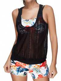 Comfort Mesh Vest Beauty Back Bathing Suits