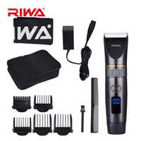 RIWA RE-6501 Hair Clipper Titanium Ceramic Blade Razor