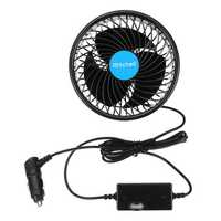 4.5 Inch Car Fan Headrest Rear Seat Cooling Cooler Vehicle 360 Degree Rotatable Stepless