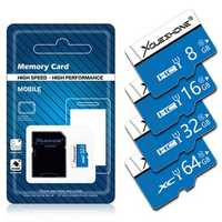 Xoueshone 16GB 32GB 64GB Class 10 High Speed TF Flash Memory Card with Adapter for Mobile Phone