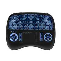 iPazzPort KP-810-21T-RGB French Three Color Backlit Mini Keyboard Touchpad Airmouse