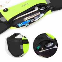 HOCO Sport Large Capacity Waterproof Reflective Stripes Competition Marathon Waist Bag