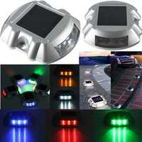 Waterproof Solar Powered 6 LED Outdoor Garden Ground Path Road Step Light