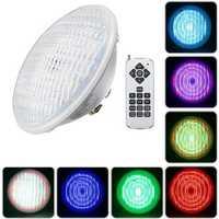 36W Par56 RGB LED Underwater Waterproof Swimming Pool Light IP68 Remote Control Atmostphere Light
