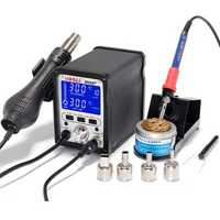 YIHUA 995D 2 In 1 Soldering Station Hot Air Gun Soldering Iron Repair Desoldering Welding 110V/220V