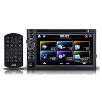 6.5 Inch Double 2DIN In Dash GPS Car DVD Player Bluetooth Auto Stereo Radio