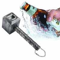 Hammer Of Thor Beer Bottle Openers Hammer Shaped Bottle Opener Corkscrew Beverage Wrench Jar Openers