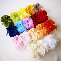50Pcs/Lot Organza Double Layer Design Gift Bag Candy Packaging Drawstring Pocket Wedding Decor Supplies