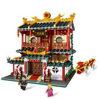 Chinese Style The Fist Of Fury Store Set Building Blocks Bricks DIY Toys Model 2882Pcs