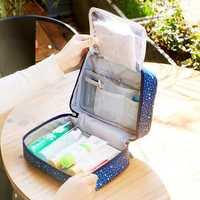 Honana HN-CB10 Waterproof Women Cosmetic Bag Makeup Organizer Pouch Hanging Toiletry Storage Bags