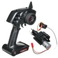 WPL 3CH Speed Change Gear Box And Radio Transmitter For B1 B24 B16 C24 1/16 4WD 6WD Rc Car