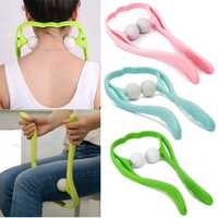 Pressure Point Therapy Tool Neck Shoulder Waist Leg Massager Stick Trigger Point Manual Massage