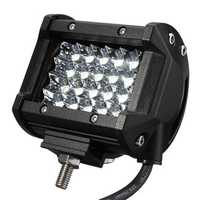 10-30V 120W 4inch 24 LED Flood Pod Spot Beam Work Light Bar OffRoad Lamp Car Truck Motor
