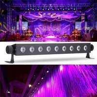 9x3W UV LED Bar Light Blacklight DJ Club Party Halloween Wall Decor Lamp AC100-240V